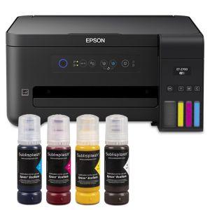 Принтер за сублимация А4 Epson EcoTank 2700 + 4x80 мл сублим. мастило Sublisplash + хартия