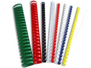 Пластмасови спирали за подвързване ф12 мм, 100бр.