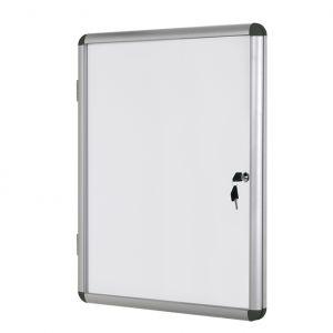 Информационно бяло магнитно табло със заключване Bi-Office