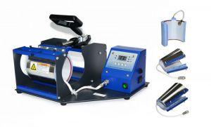 Комбинирана термопреса за 4 вида чаши SB05V