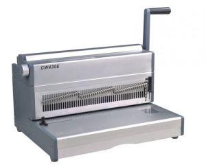 Електрическа подвързваща машина CW430E - перфорира до 20 листа, до 430 мм