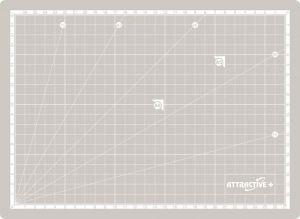 Подложка за рязане А4 /220 x 300 мм./
