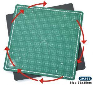Въртяща се подложка за рязане / 200 x 200 мм./