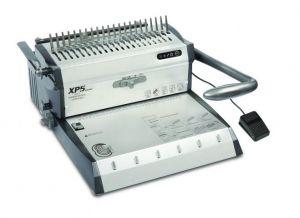 TPPS XP5 - Комбинирана електрическа подвързваща машина за пластмасова спирала и метална спирала стъпка 3:1