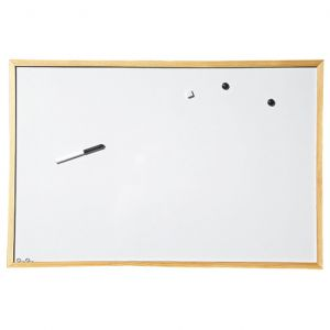 Магнитно табло с дървена рамка 60х90мм.