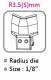 Резервни елементи за машина за заобляне 6 в 1 Kw-Trio